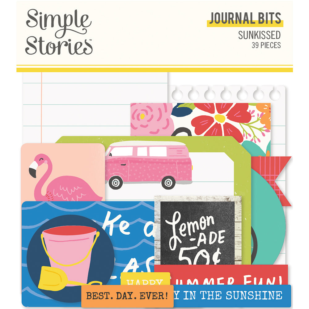 PRE-ORDER Simple Stories - Sunkissed - Journal Bits