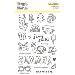 PRE-ORDER Simple Stories - Sunkissed - Stamps