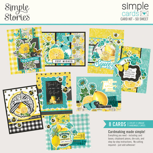 PRE-ORDER Simple Stories - Lemon Twist - Card Kit