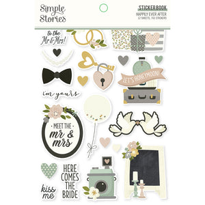Simple Stories - Happily Ever After - Sticker Book