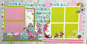 Letters to Santa 2-2 Page Layout Kit