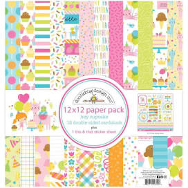 Hey Cupcake Paper Pack