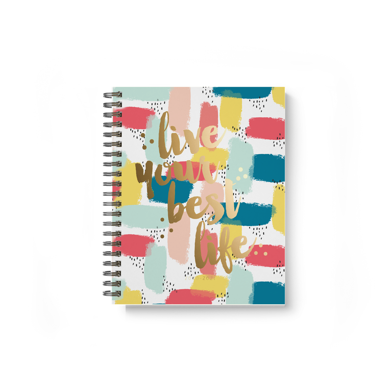 Carpe Diem Spiral Planner Live Your Best Life