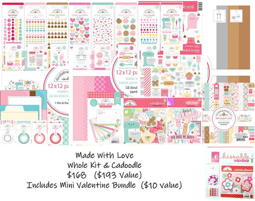 Pre-order Made with Love- Kit & CaDoodle