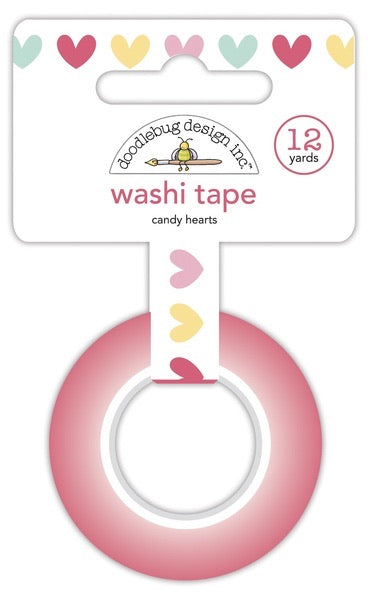 Pre-order Candy Hearts Washi Tape