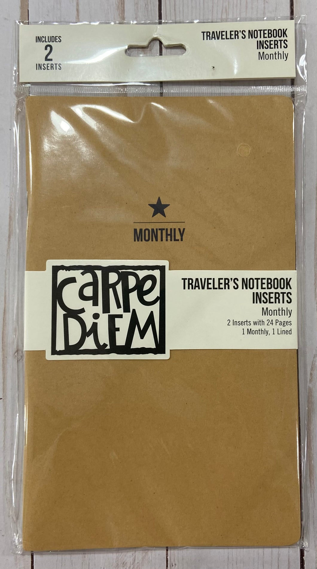 Carpe Diem TN monthly inserts