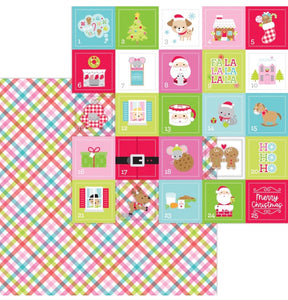 cozy quilt double sided cardstock