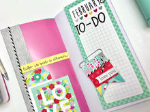 Load image into Gallery viewer, February Planner Chicks-Travelers Notebook