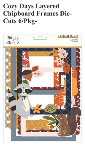 Cozy Days Chipboard Frames