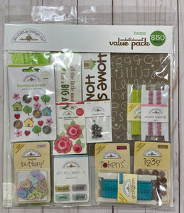 Doodlebug Home Value Pack