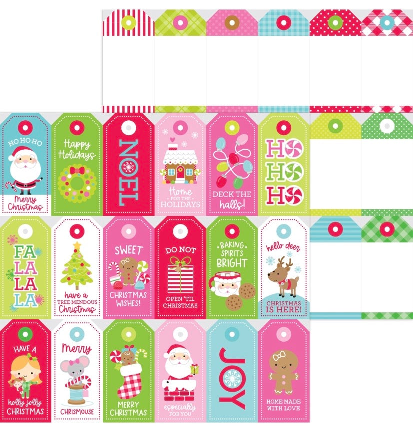 gift tags double sided cardstock