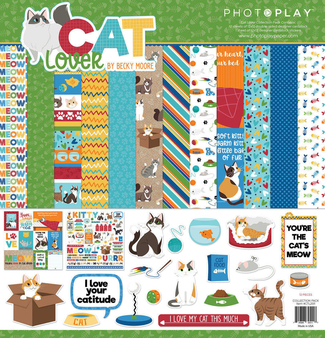 Photoplay Cat Lover Collection Pack