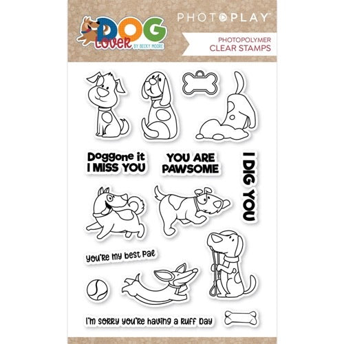 Photoplay Dog Lover Stamps