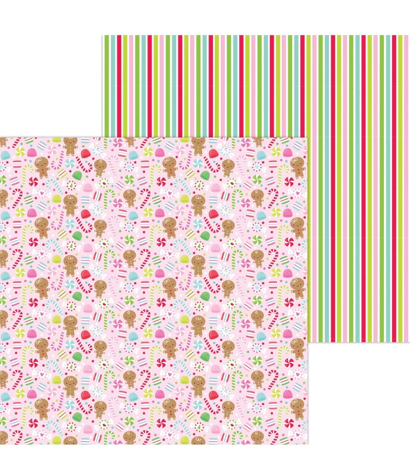 Pre-sale Dancing Sugarplums double sided cardstock