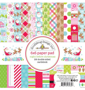 PRE-SALE Night Before Christmas 6 x 6 paper pad