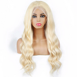#613 100% Virgin Human Hair Body Wave Full Lace Wig