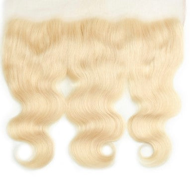 #613 100% Human Body Wave Hair Frontal or Closure