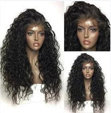 100% Virgin Human Hair Exotic Wave 13x6 Transparent Lace Front Wig