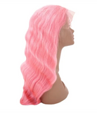Blush 100% Virgin Human Hair Body Wave 13x4 Transparent Lace Front Wig
