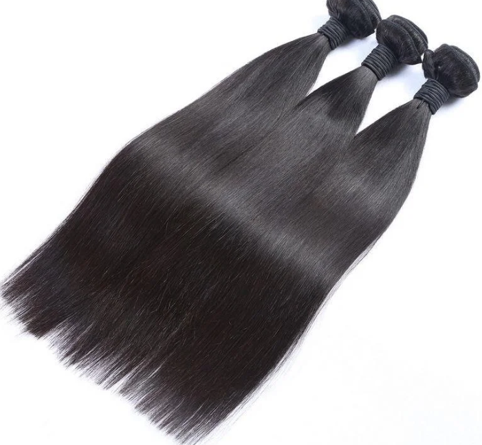 100% Human Hair 10A Straight 3 Bundle Deal