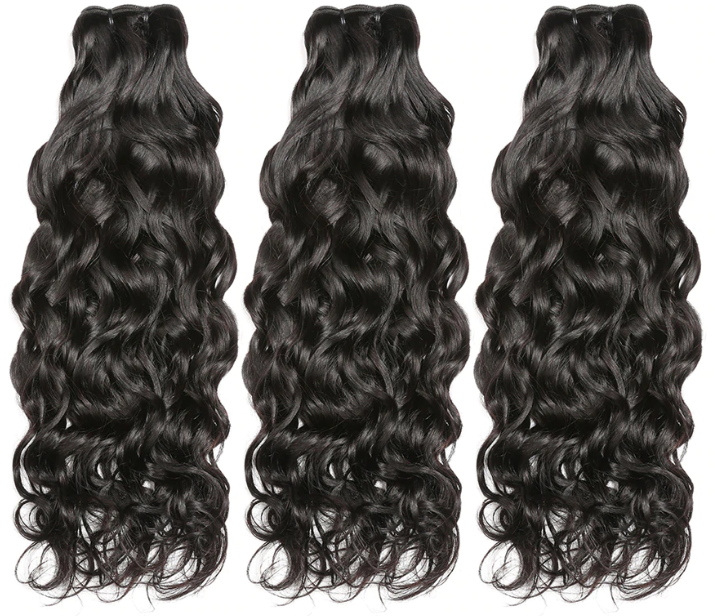 100% Human Water Wave Hair Bundle