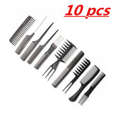 10pc Professional Hair Comb Set