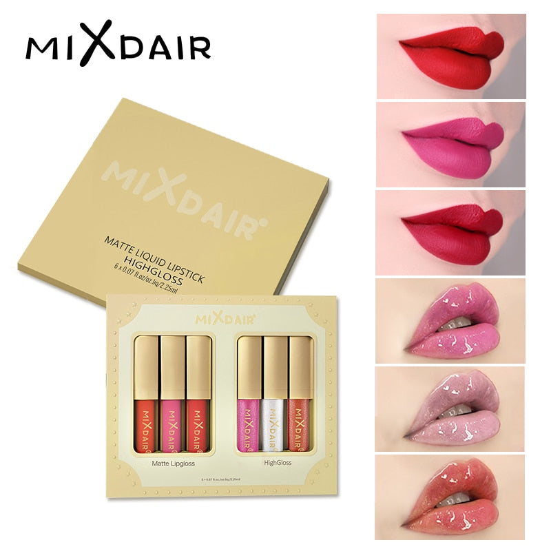 Liquid Moisturizing Waterproof Long-lasting Lip Gross