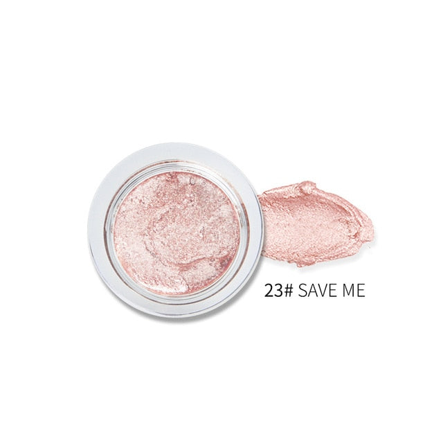 25 Color Single Eye Shadow Cream