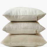 Rules Are For Fools - Shearling Pillow Cover, Ivory