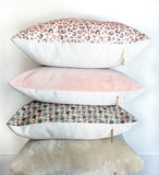 Soul Sister - Tile Pillow Cover, Pink - FINAL FEW