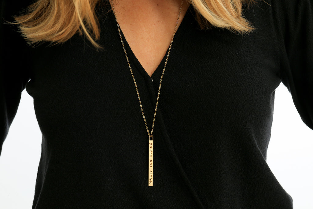 Better Together - Zipper Pull Necklace