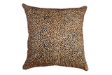 Brave, Not Perfect - Cheetah Cowhide Pillow Cover, MiniCat
