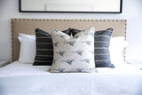 Better Together - Stripe Pillow Cover, Black - FINAL FEW