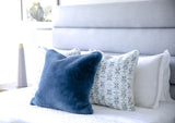 All Together Now - Tile Pillow Cover, Blue - FINAL FEW