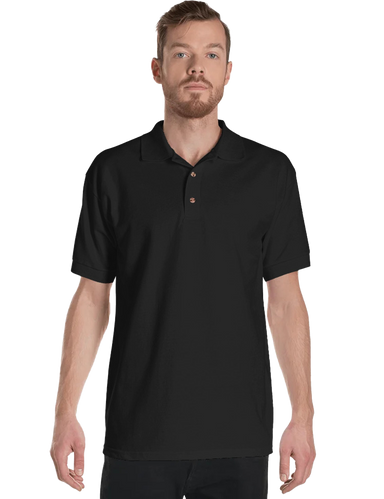 Men's 100% Cotton Pre-shrunk Relaxed Fit Polo Shirt - Mercating | Business solutions to achieve more with less