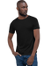 Confy Raw Neck Relaxed Fit T-Shirt - Mercating | Business solutions to achieve more with less