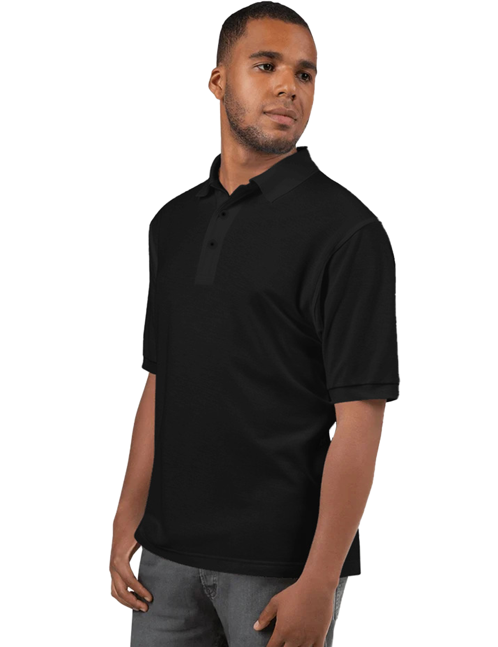 Premium Relaxed Fit Silky Polo Shirt - Mercating | Business solutions to achieve more with less