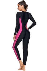 Better Hourglass Accent Zip Front Wet Suit