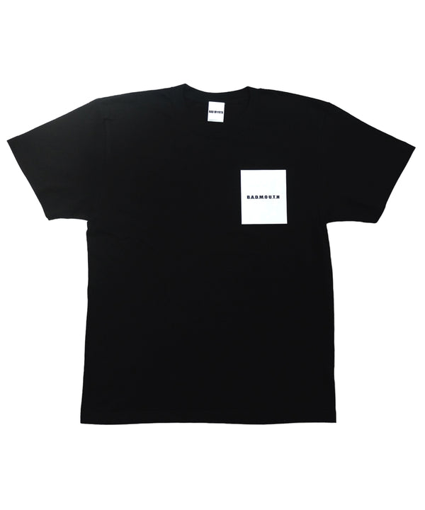 POCKET PRINT TEE BLACK