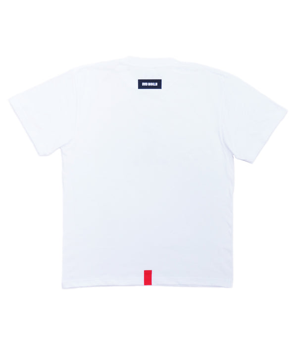 POCKET PRINT TEE WHITE