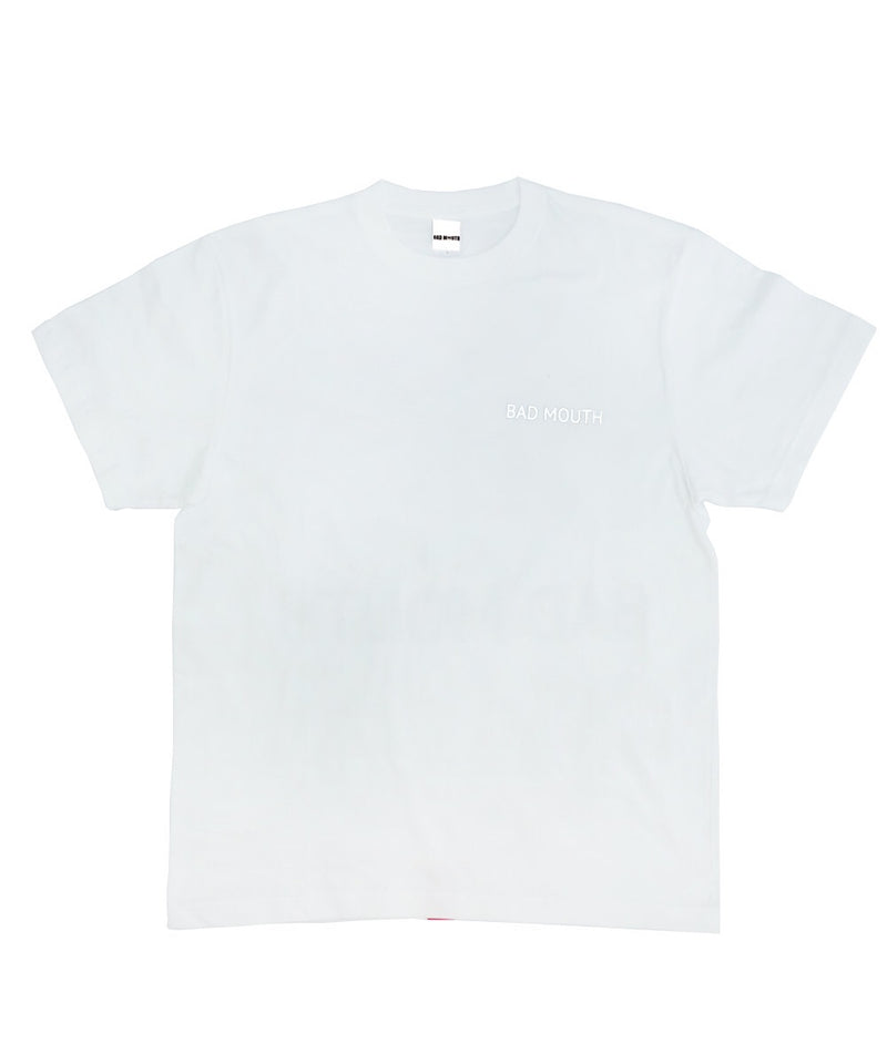 BACK LOGO T-Shirts WHITE