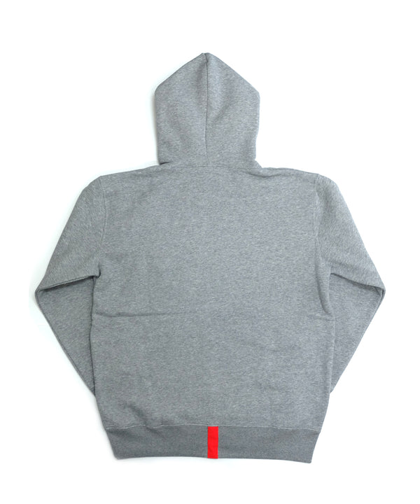 ORIGINAL PATCH HOODILE 〈GRAY〉