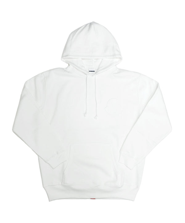 ORIGINAL PATCH HOODILE 〈WHITE〉
