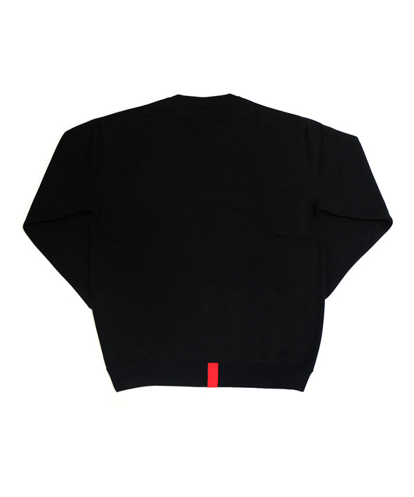 ORIGINAL PATCH SWEAT〈BLACK〉