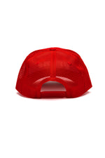 Prime Trucker Hat - Red/White