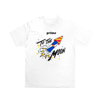 To The Moon T-Shirt - White