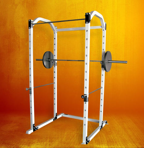 Commercial Power Rack - Color - SILVER ONLY