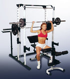 Caribou III Rack with Flat / Incline / Decline Bench