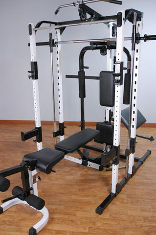 Caribou III Package including Dip Station, Preacher Curl, Pec Dec, Lat Attachment ,& Bench