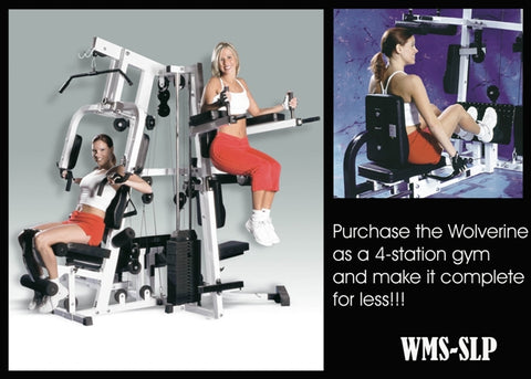 Wolverine Multi-station Gym W/ Leg Press  PREPAID ORDER